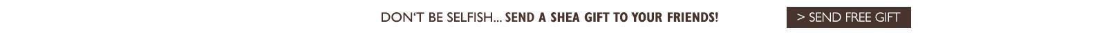Use code SHEA98463