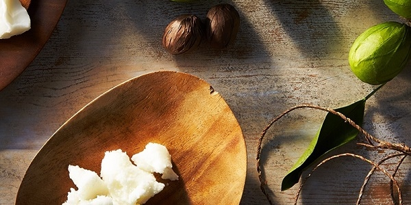 natural nail care with shea cuticle oil