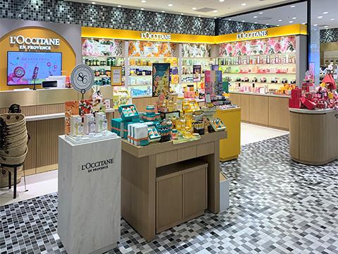 ロクシタン 渋谷スクランブルスクエア プラスクビューティー店