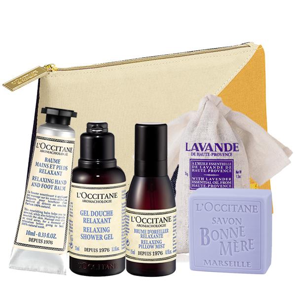 Atpalaiduojantis Aromatologijos rinkinys su kosmetine   L'OCCITANE