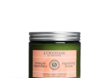 Haire care routine - Aromachology repairing mask - l'Occitane