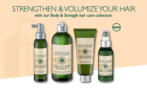 Body & Strength Hair Care Collection
