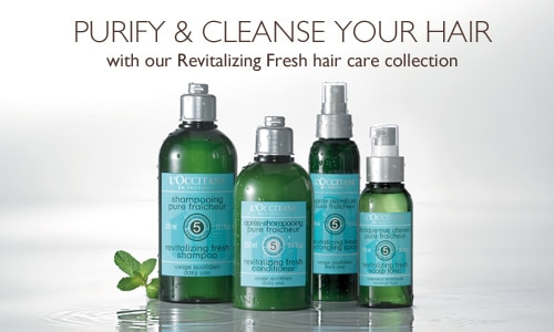 Revitalizing Hair Care Collection