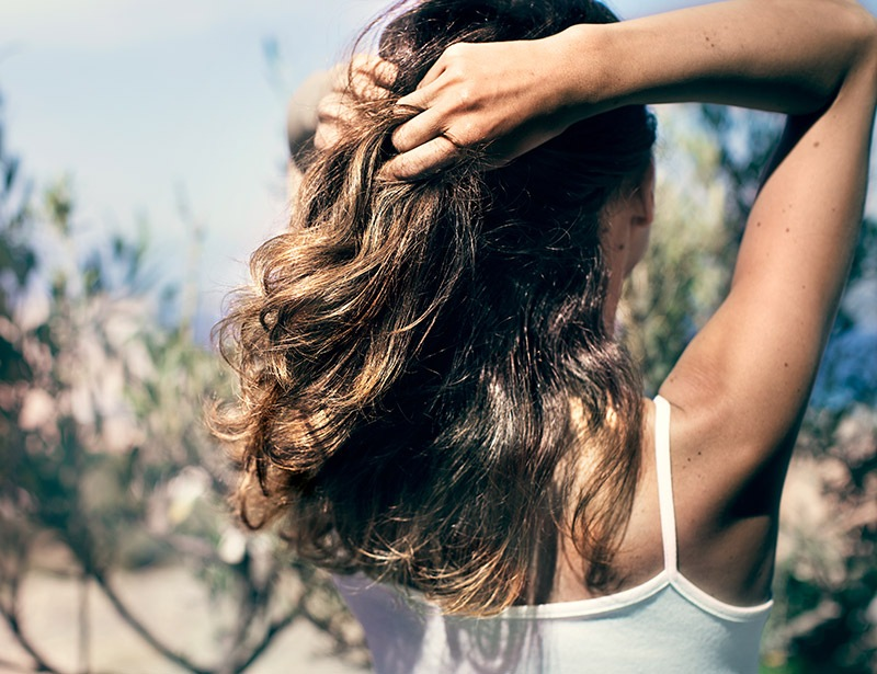 6 steps to shiny hair