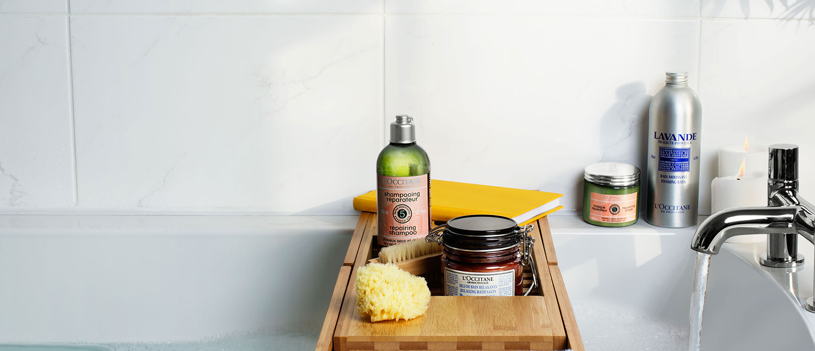Tips for a sensorial spa at home