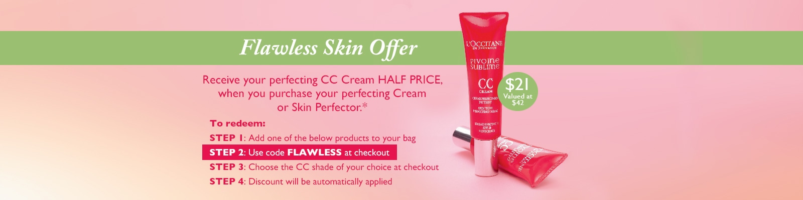 Flawless Skin offer