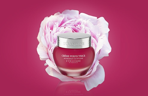 Your Beauty ritual with the Peony Perfecting Cream