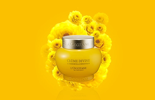 Your Global age ritual with the Immortelle Divine Cream