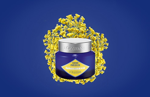 Your Youth ritual with the Immortelle Precious Cream