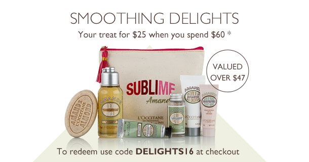 your treat for $25 when you spend $60