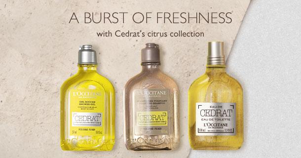 discover cedrat's citrus collection