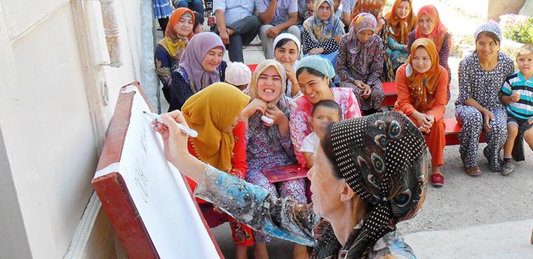自2006年,致力提升女性獨立自主能力