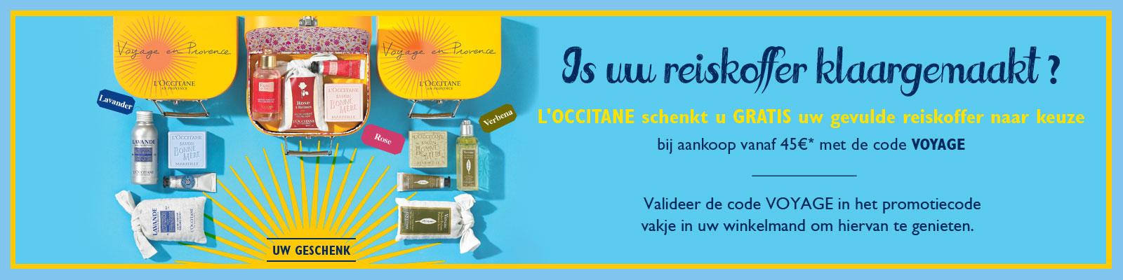 Offre Angélique - L'Occitane
