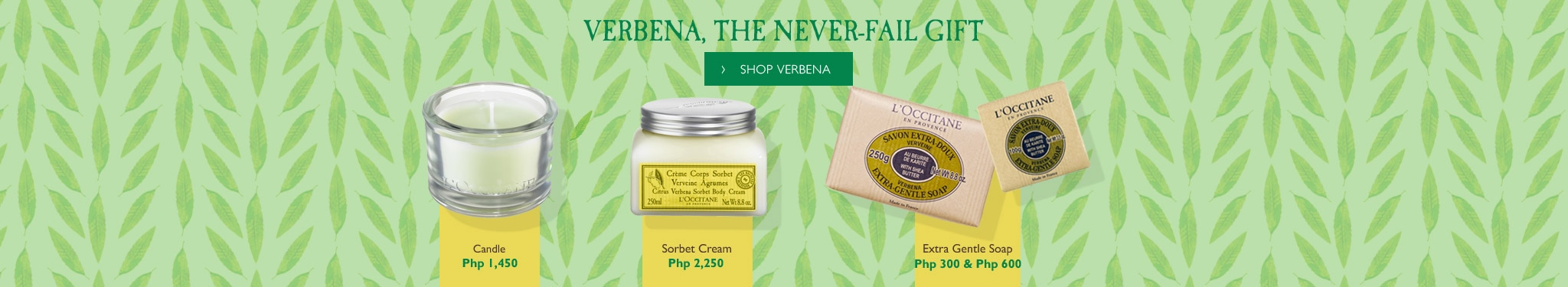 VERBENA, THE NEVER-FAIL GIFT