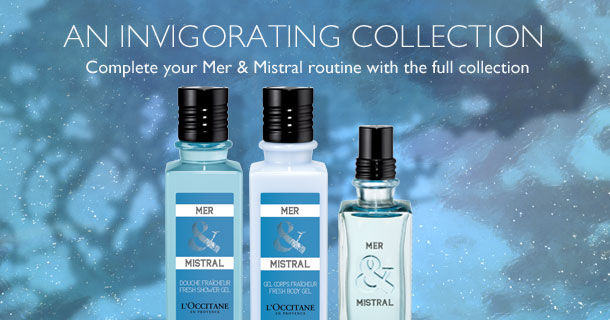 Complete your Mer & Mistral routine with the full collection