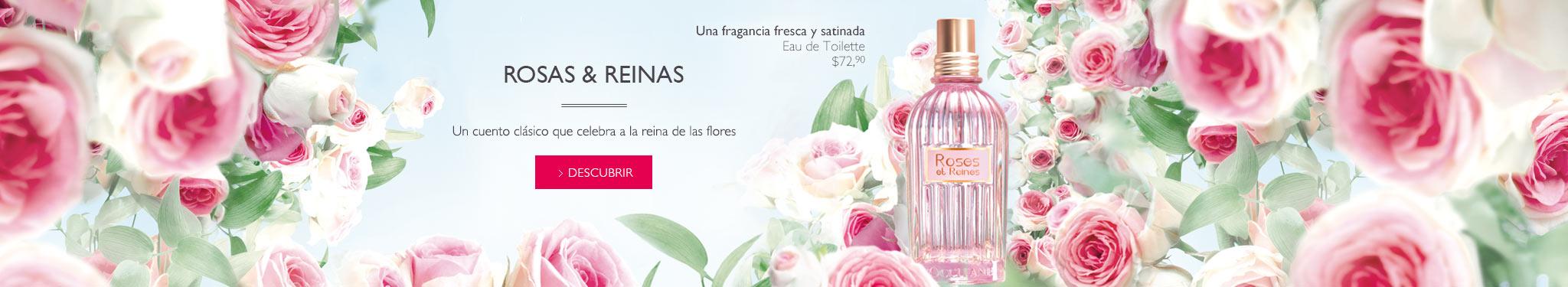 Nuevo perfume de mujer Rosas y Reinas