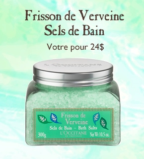 Verbena Frisson Bath Salts