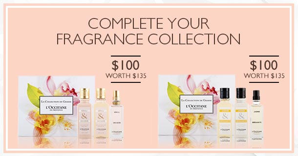 complete your fragrance collection- gift sets