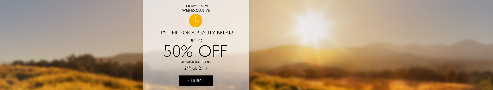 Beauty Break Flash Sale