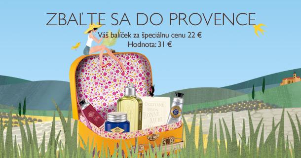 Zbaľte sa do Provence