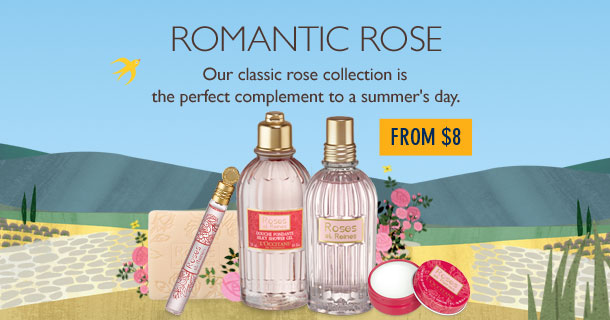 Our classic rose collection is the perfect complement to a summer's day.