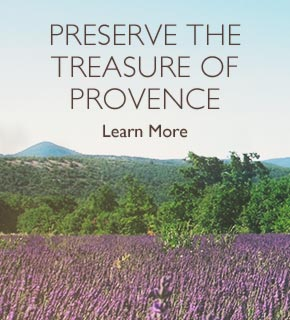 Preserve the treasure of provence.