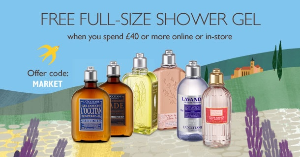 Free Full-Size Shower Gel