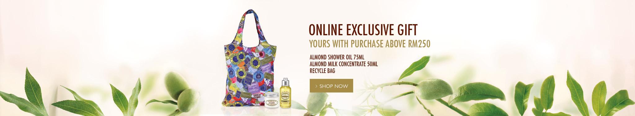 Online Exclusive Gift