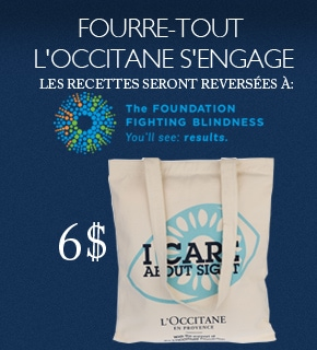 L'Occitane Cares About Sight Tote Bag