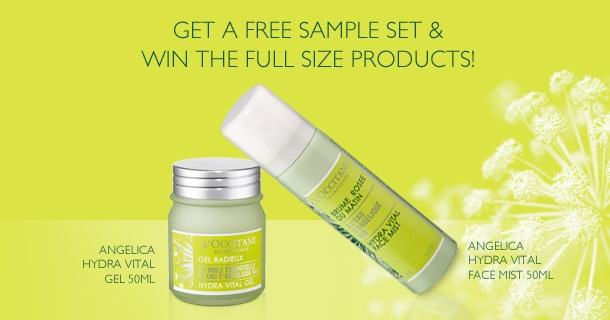 Get a FREE Sample Set & Win The Full Size Products