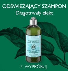 Odświeżający szampon