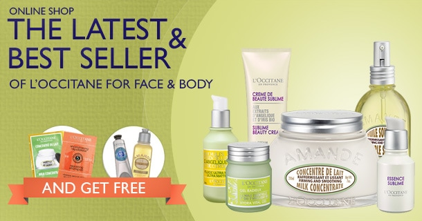 ONLINE SHOP! The latest & best seller of L'OCCITANE for Face & Body