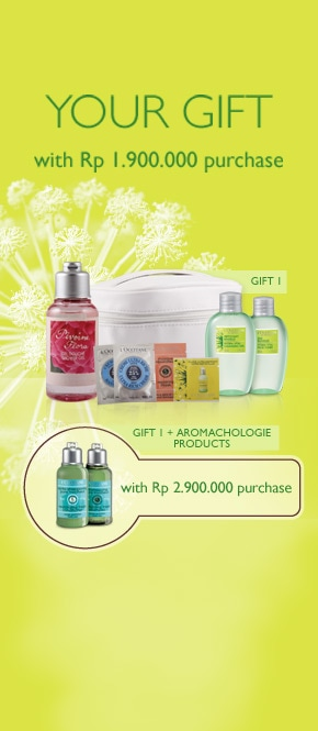 Your Gift with Rp 1.900.000 purchase.