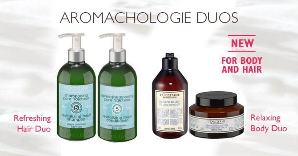 Aromachologie Hair and Body Duos