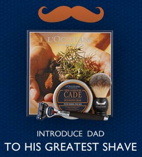 Luxury shaving set- treat dad to his greatest shave