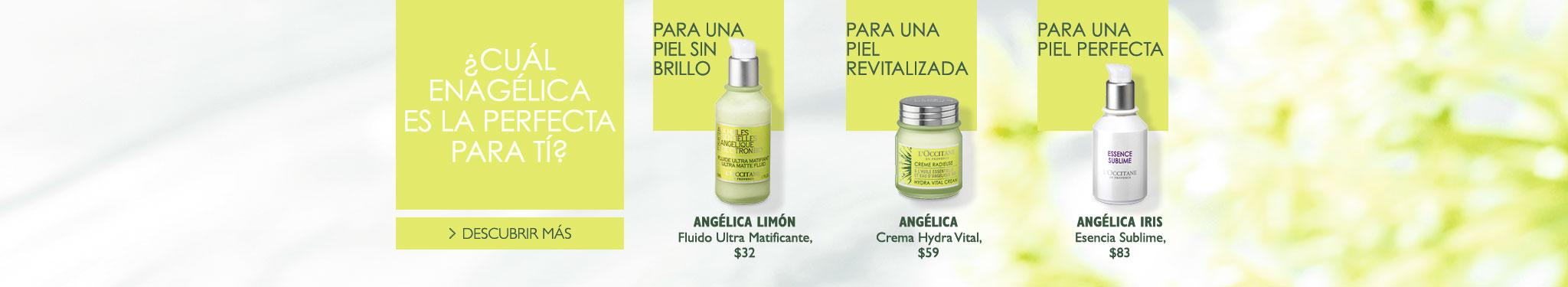 Descubre cuál es la angélica ideal para tu tipo de piel