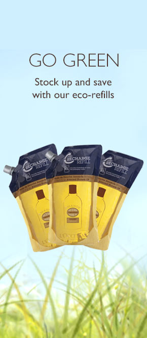 stock up and save with our eco refills