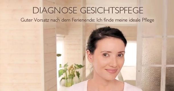 Diagnose Gesichtspfege