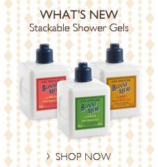 Stackable Shower Gels