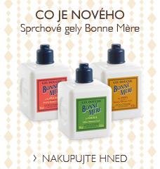 Sprchové gely Bonne Mère