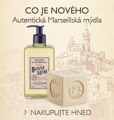 Autentická Marseillská mýdla