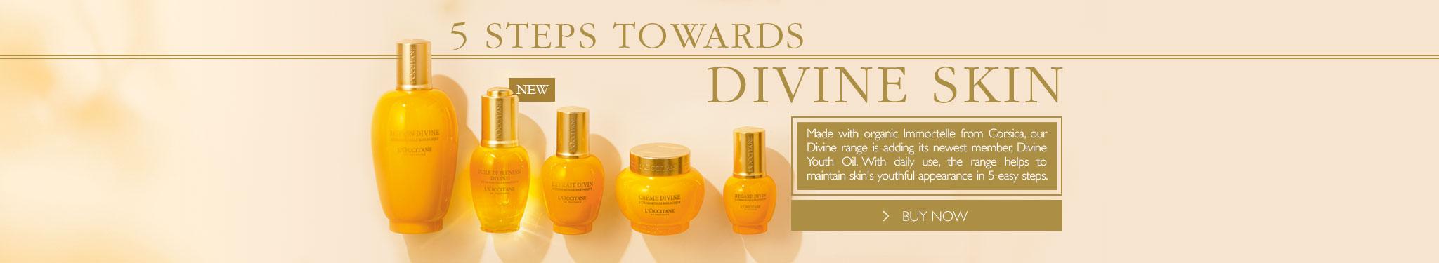 5 Steps to Divine Skin