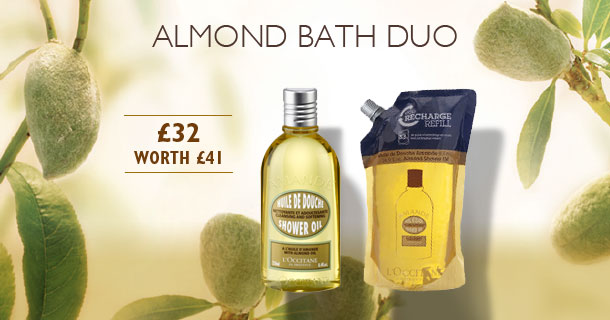 Almond Bath Duo