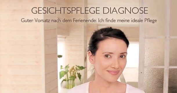 Gesichtspfege Diagnose