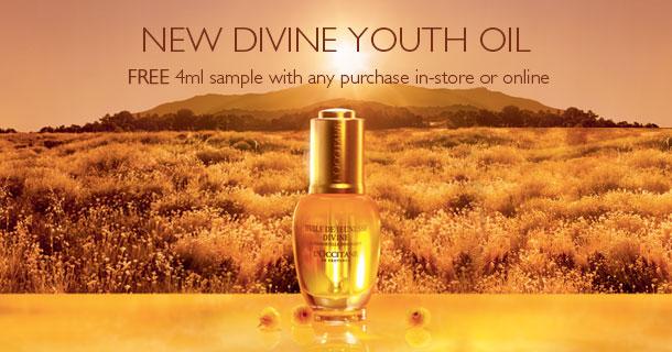 Divine Oil Sample Sign up