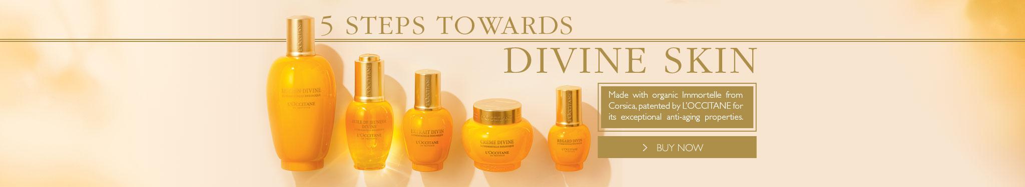 5 Steps Towards Divine Skin