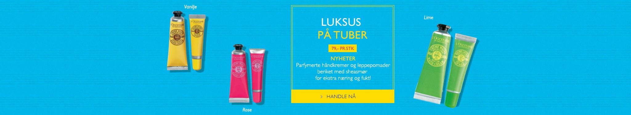 LUKSUS PÅ TUBER