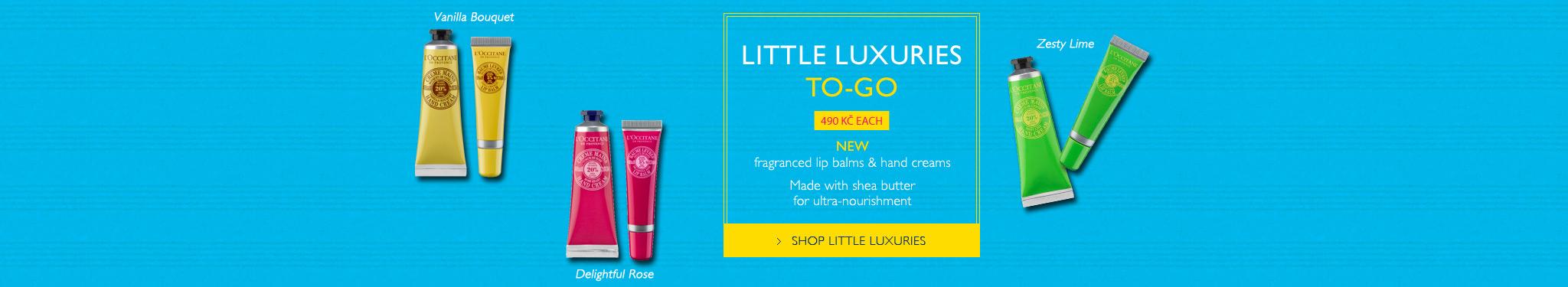 New fragranced lip balms & hand creams