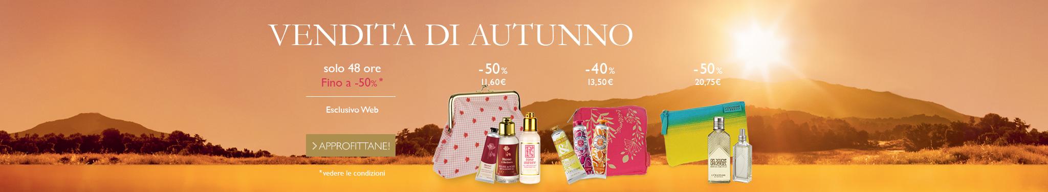vendita d'autunno