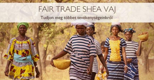 Fair Trade shea vaj